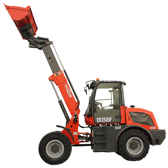 EVERUN ERF SERIES TELESCOPIC LOADER Telescopic Wheel Loader—ER2500F